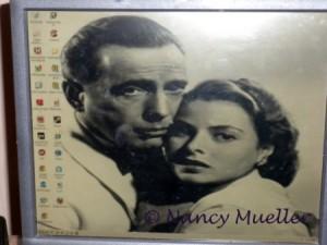Screen Saver at Hotel Casablanca