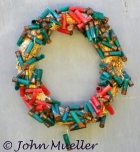 Wreath of Shell Casings