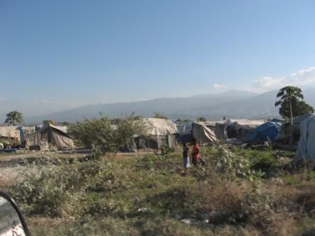 Tent City in Haiti