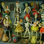 D is for El Dia de los Muertos (Day of the Dead)