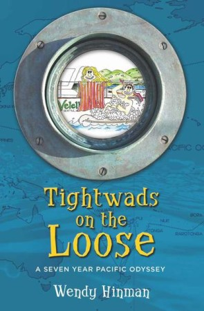 Covershot of Tightwads on the Loose by Wendy Hinman