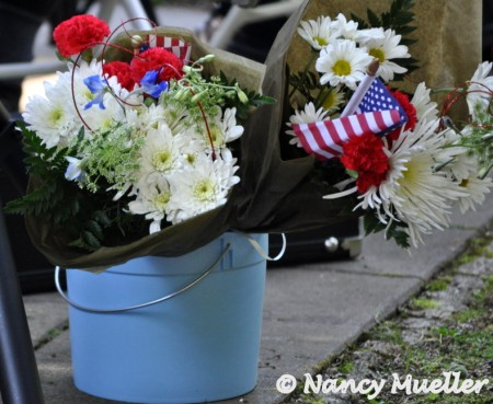 4th of July flowers
