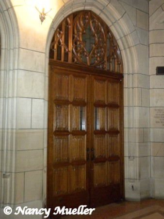 St. Patrick's Cathedral Door