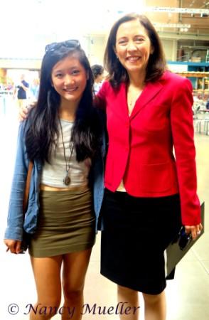 Maria Mueller and WA State Senator Maria Cantwell
