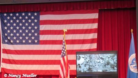 U.S. American Flag Seattle Center House