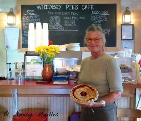 Jan Gunn Whidbey Pies Cafe