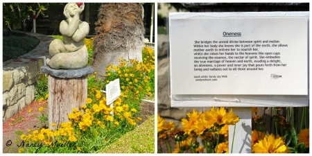 The Oaks at Ojai Oneness Sculpture