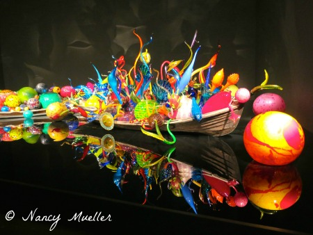 Chihuly Float Boats