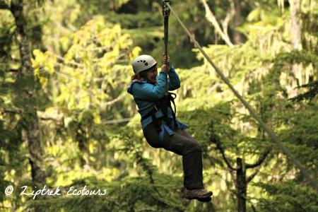 Nancy Mueller Ziptrek Ecotours