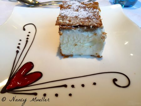 Dessert on Viking River Cruises