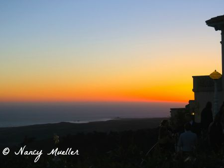 Hearst Castle Sunset