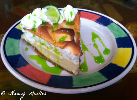 Key Lime Pie from El Meson de Pepe