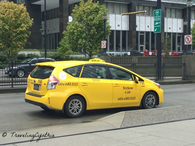 how to get a taxi in vancouver