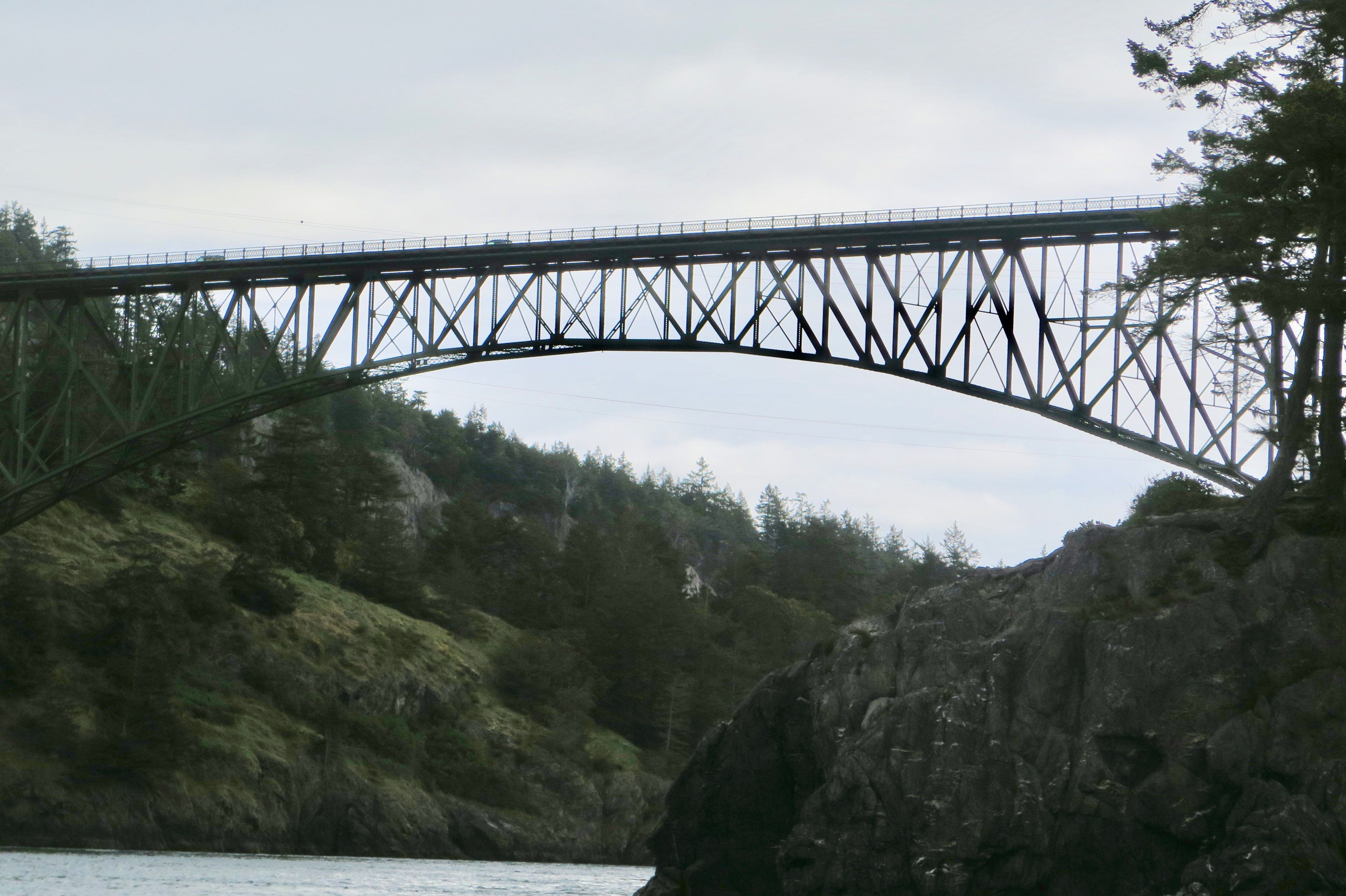Weekend Getaway to Whidbey Island, Deception Pass Bridge