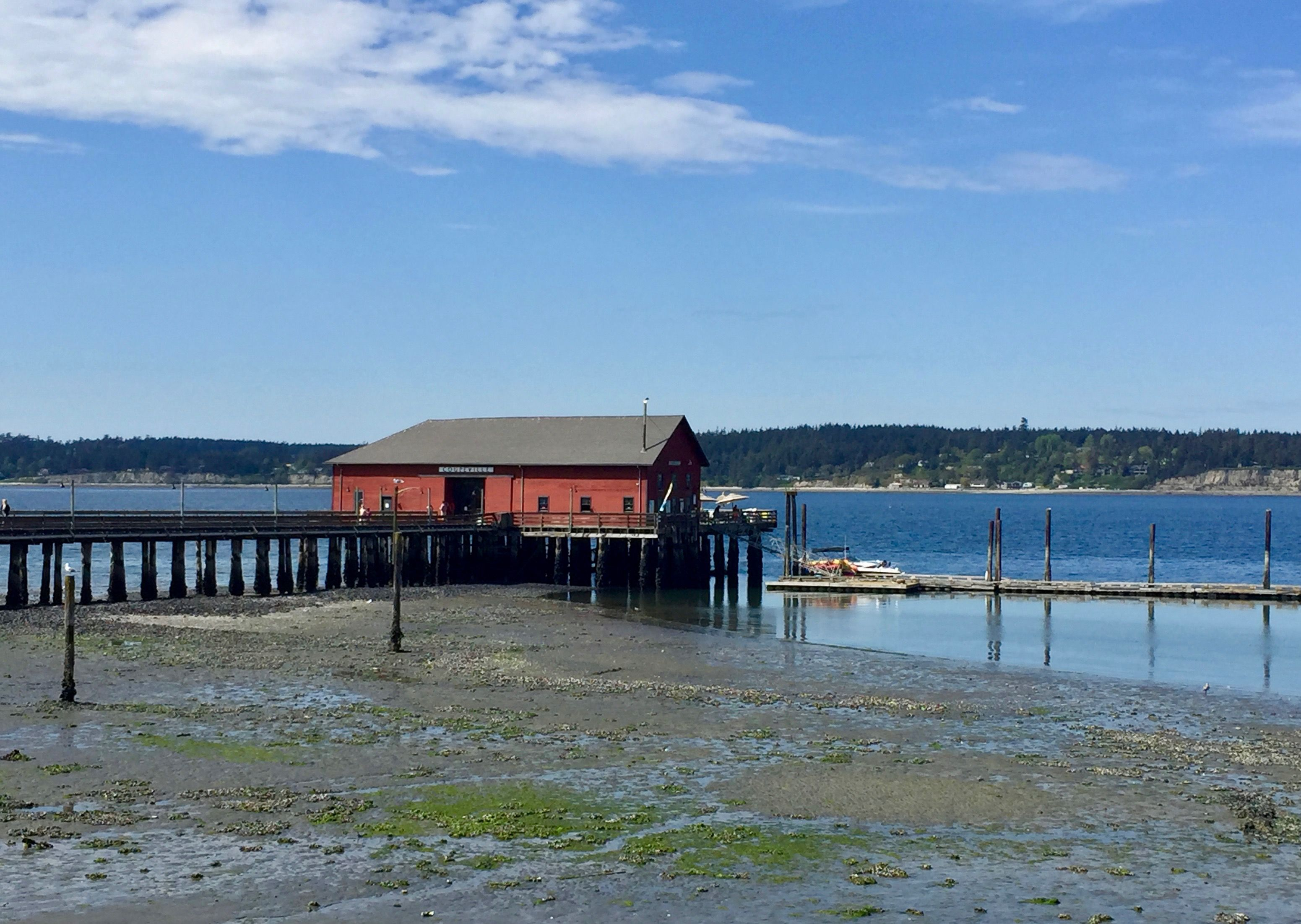 Weekend Getaway to Whidbey island, Coupeville Wharf