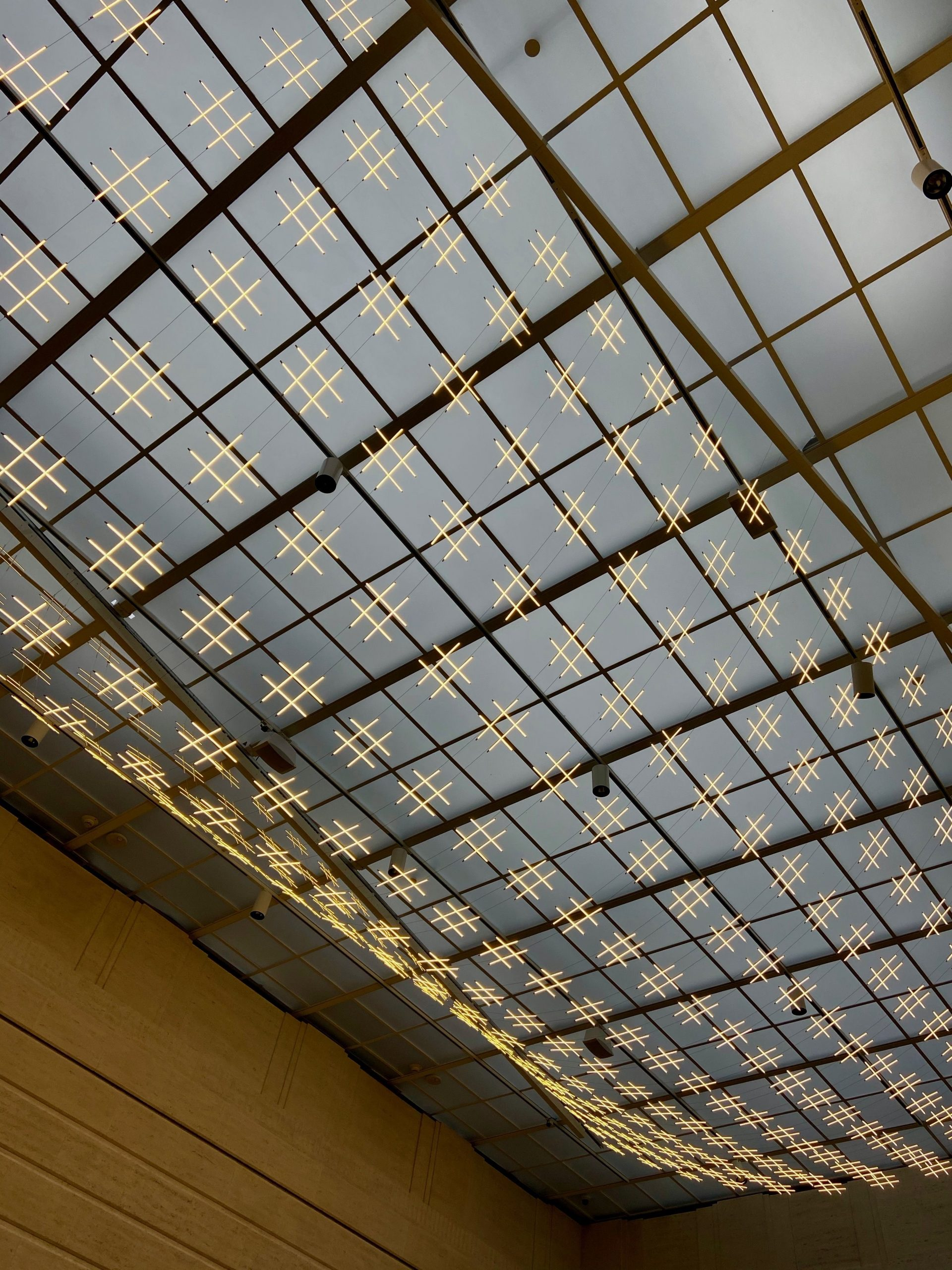 LED-Light Canopy at Seattle Asian Art Museum